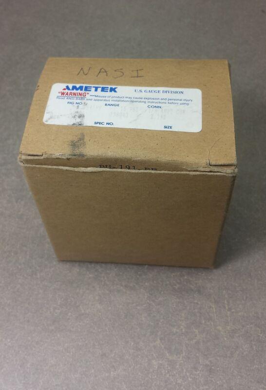 """NEW, AMETEK GAUGES 2.5"""" size, 1/8 ANPT CBN 0-15PSI SPEC138043 P845FF"""