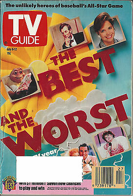 1991 TV GUIDE The Best and the Worst The TV Year in Review July