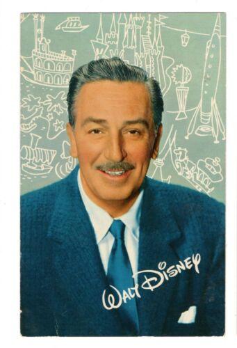 1958 Disneyland Walt Disney postcard Unposted A-1slight age wear from storage,