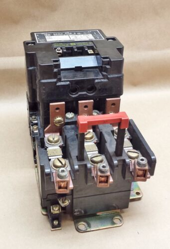 Square DStarter / Contactor Size 3, Class 8536, Type SEO 1  #6397