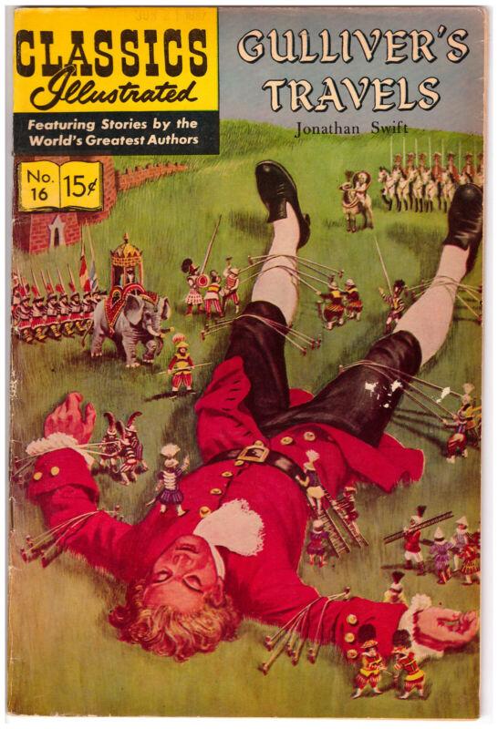 Classics Illustrated - Gulliver