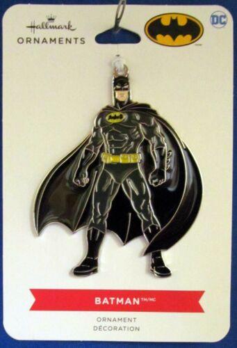 2021 Hallmark Flat Metal Ornament - BATMAN - DC Comics WB