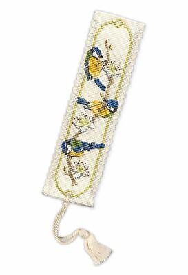 Bluetits Bookmark Cross Stitch Kit (Textile Heritage)