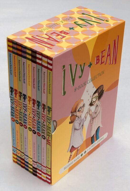 Ivy and Bean Box Set Childrens Books Lot 9