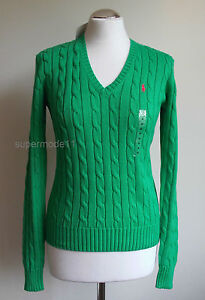 POLO-RALPH-LAUREN-Modell-KIMBERLY-PP-Damen-Pullover-light-green-Gr-M-L