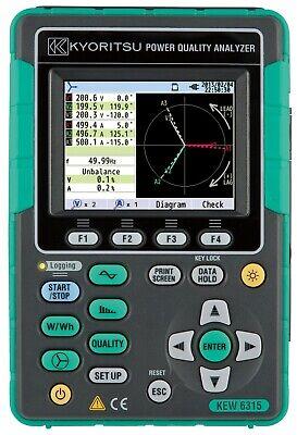 Kyoritsu 6315-01 Power Quality Analyzer Set