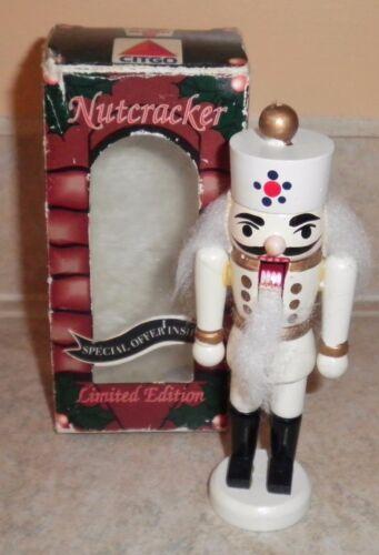 7-Eleven CITGO Vintage Miniature Nutcracker Limited Edition Holiday 1993