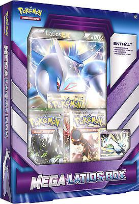 Pokemon Mega Latios Box Deutsch