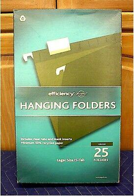 Ampad Hanging File Folders--legal Size--box Of 25