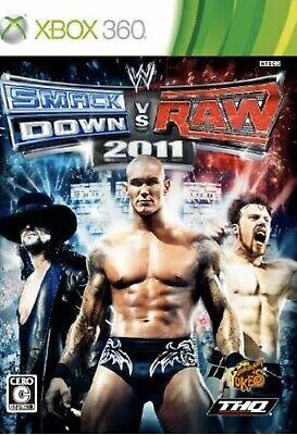WWE SmackDown vs. Raw 2011 XBOX 360 NTSC-J (Wwe Smackdown Vs Raw 2011 Xbox 360)