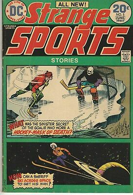 DC Comics Strange Sports Vol 1 (1973 Series) # 5 VG/FN