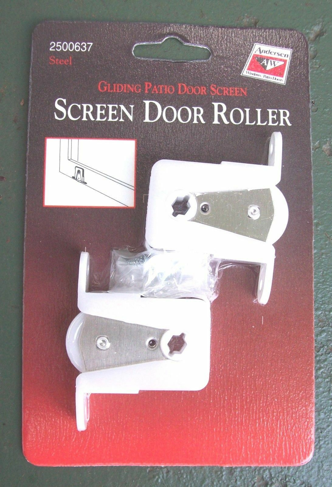 Andersen Screen Door Rollers Gliding Patio Door Screen 1 Pai