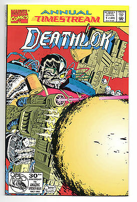 Deathlok Vol 1 Annual No 1 1992 (NM-) Marvel Comics, Modern Age (1980 - Now)