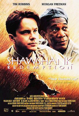 The Shawshank Redemption  1994  Original Video Movie Poster     Rolled