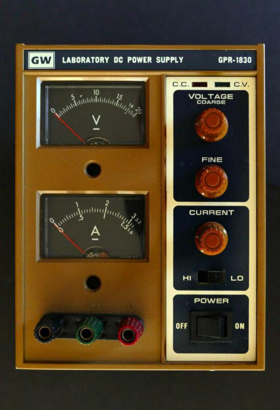 GW Laborator DC Power Supply  GPR-1830