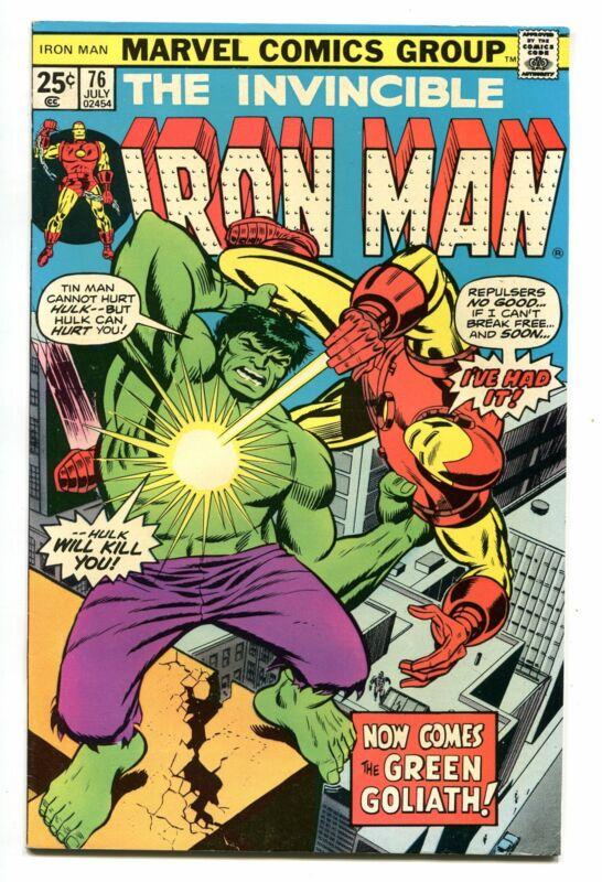 IRON MAN # 76