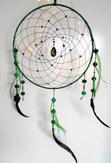 ~Handmade~ Green Chrysocolla Dreamcatcher