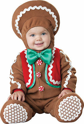 Sweet Gingerbaby Child Toddler Costume Gingerbread Story Theme Party Halloween](Halloween Themed Toddler Party)
