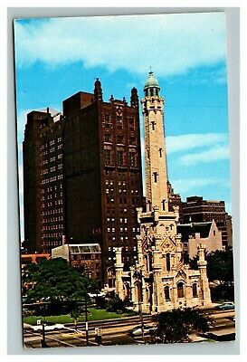 Vintage 1960's Postcard Loyola University Downtown Campus Chicago Illinois