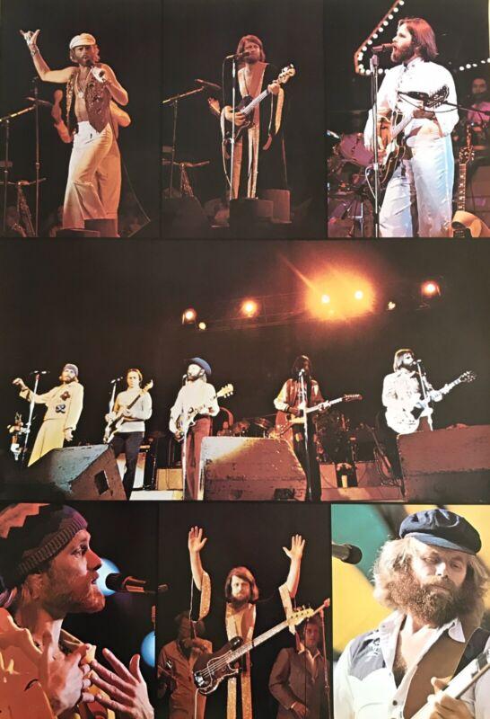 Vintage 1970s BEACH BOYS Concert Icon Surf Surfer Poster