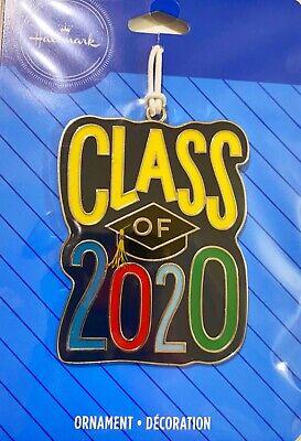 2020 Hallmark Class Of 2020 Christmas Tree Ornament New RARE