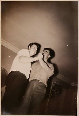 VINTAGE DANCING QUEEN DUDES MEN LEAD FOLLOW GAY INT VERNACULAR PHOTOGRAPHY PHOTO](Vintage Dudes)
