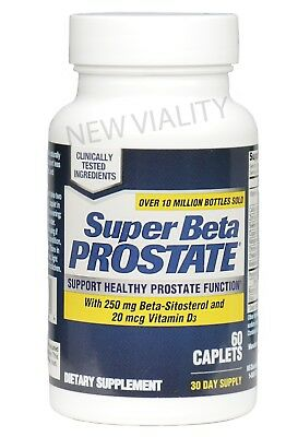 Super Beta Prostate by New Vitality - 60 Caplets - Brand New & Free Shipping!