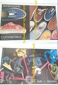 VANS_shoes & sportswear_pubblicità originale del 1988_advertising_werbung - Italia - VANS_shoes & sportswear_pubblicità originale del 1988_advertising_werbung - Italia