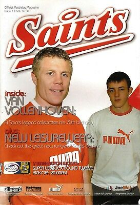 St Helens v Warrington - Super League 2005