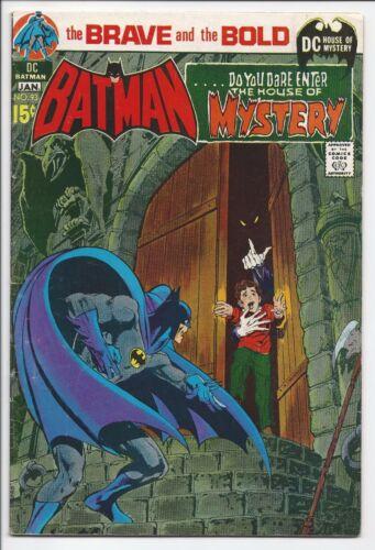BRAVE & BOLD #93, DC 1970-71, FN CONDITION, BATMAN HOUSE OF MYSTERY, ADAMS ART