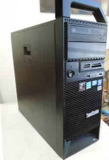 Lenovo ThinkStations S30 4-Core 3.60GHz Xeon E5-1620 32GB