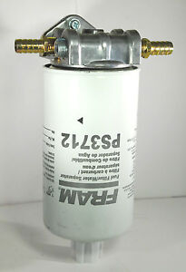 diesel oil remote mount for fram ps3712 6 micron fuel ... dodge diesel fuel filter replacement