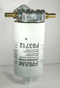 fram fuel filter assembly diesel water separator: parts & accessories | ebay fram fuel filter base
