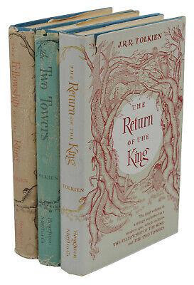 Lord of the Rings Trilogy J.R.R. TOLKIEN  First Edition Later Printings 1962 (Lord Of The Rings First Edition First Printing)
