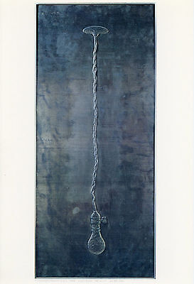 "Jasper Johns ""Light Bulb"" vintage 1969 Gemini G.E.L."