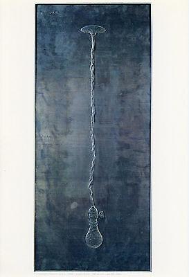 """Jasper Johns """"Light Bulb"""" vintage 1969 Gemini G.E.L."""