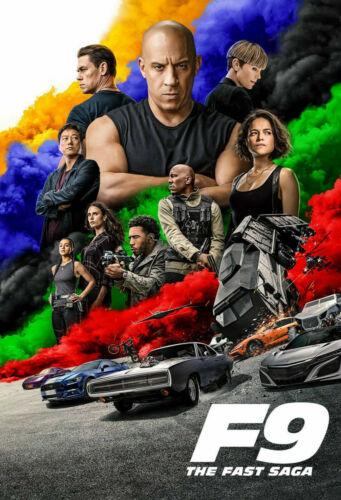 F9: The Fast Saga (DVD) 2021 BRAND NEW FREE SHIPPING