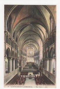 Kent, Canterbury Cathedral Choir LL 9 Postcard, A681