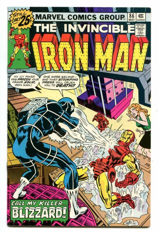 IRON MAN # 86