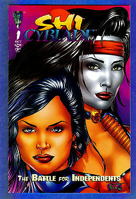 Shi Cyblade # 1  The Battle for Independentsr - 1995 (fn+)