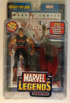Marvel Legends Wonder Man with Yellow Jacket Legendary Rider Series 2005 Toy Biz