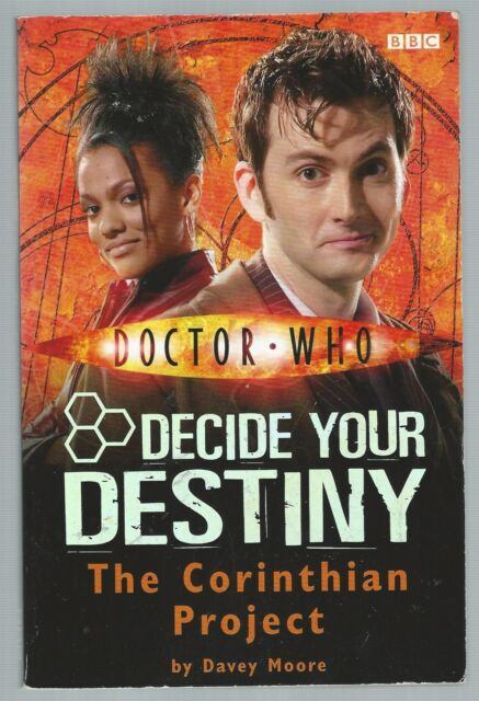 Doctor Who Decide Your Destiny 4 The Corinthian Project BBC 2007 10th Doctor G-