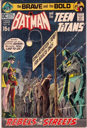 BRAVE AND BOLD #94 - BATMAN AND THE TEEN TITANS!