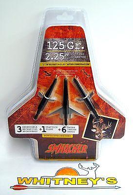 "Swhacker 2 Blade Expandable Broadhead 125 Grain - 2.25"" Cut - 0202"