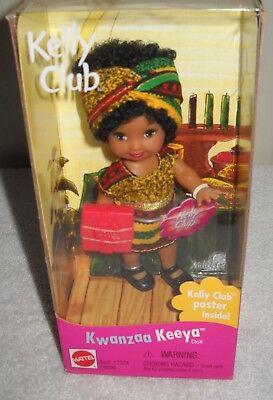 #7121 NRFB Mattel Barbie Kwanzaa Keeya (Kelly) African American Doll