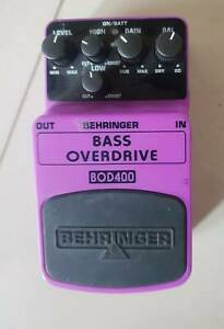 Guitar pedals, delay and bass overdrive Horsham Horsham Area Preview