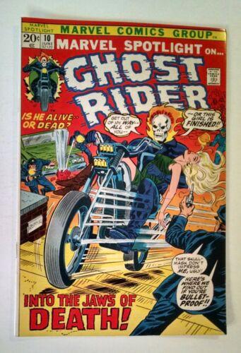 Marvel Spotlight on Ghost Rider #10 (June 1973, Marvel)