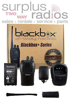 New Blackbox Uhf 430-470mhz 16ch Radio Ham Fire Police Works With Cp200