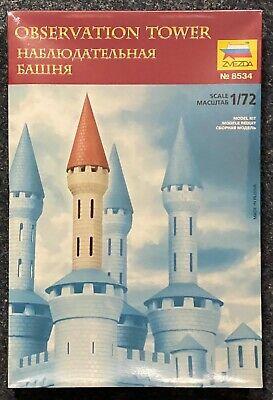 Zvezda 8534 Observation Tower Militär Beobachtungsturm Modellbau 1//72 V-7458