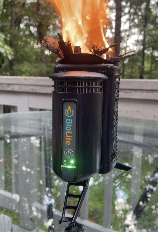 Biolite Campstove w/Upgraded Nitecore RCR123A 3.7v 2.4wh Battery